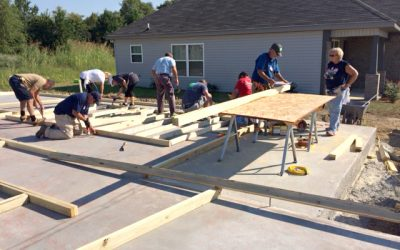 McCorquodale Volunteers with Habitat for Humanity