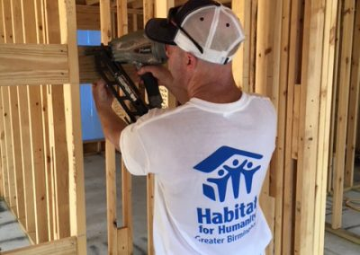 McCorquodale Helps Out Habitat for Humanity